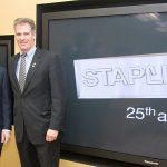 Staples + Senator Scott Brown + Steph Stevens Photo . Boston Corporate Photography