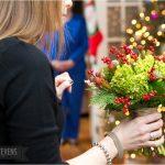 L+N . Christmas Eve Wedding at Home . Medford, MA