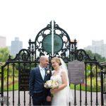 Intimate Boston Public Garden Wedding Ceremony