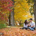 Fall Engagement Session . Ashland, MA