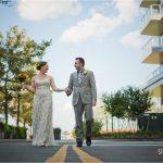 Wedding Portraits at Fan Pier in Boston